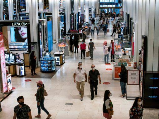 Las ventas minoristas en EEUU suben más de lo esperado en agosto