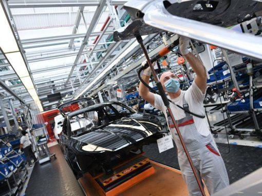 Los pedidos industriales en Alemania aumentaron en julio