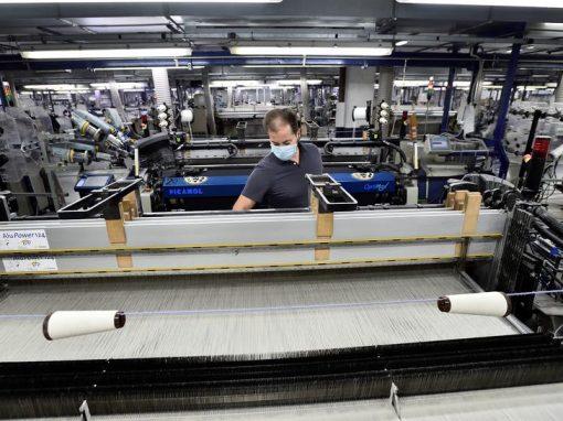 La producción industrial en la eurozona y en la UE aumenta en julio