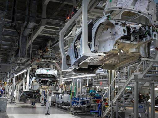 La actividad de las fábricas de la eurozona cayó en agosto