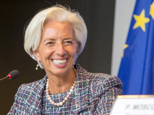 Gran alivio de la crisis deja a Christine Lagarde ante una dura transición