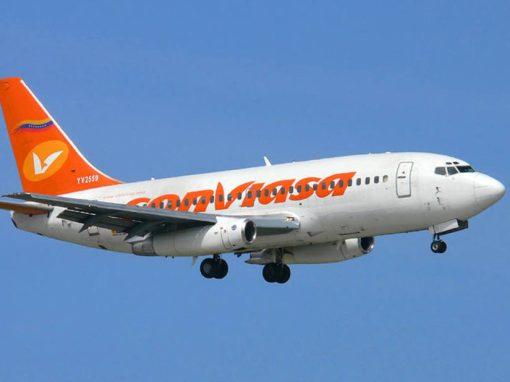 Conviasa reactivó vuelos a rutas nacionales entre noviembre y enero 2022