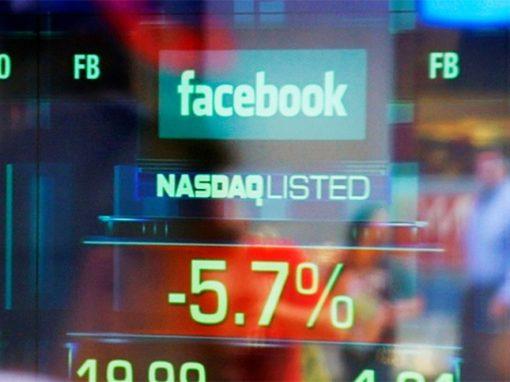 Wall Street terminó en fuerte baja por tecnológicas y Facebook