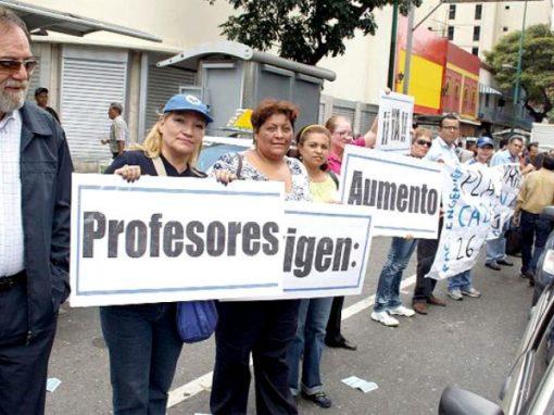 """Este es el salario """"máximo"""" que gana un docente universitario en Venezuela"""